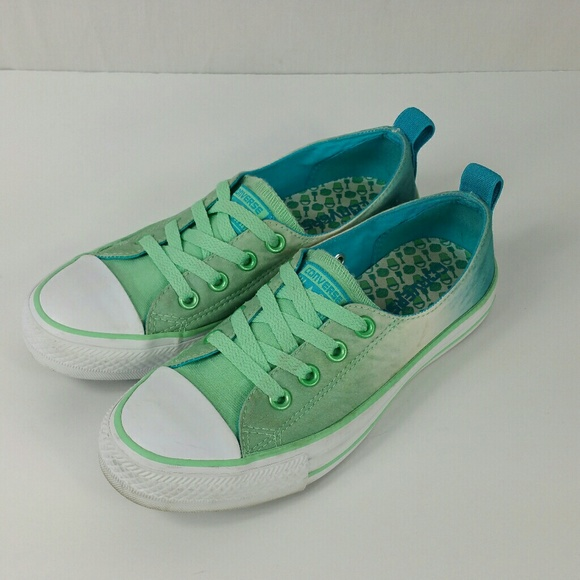 156f67787182 Converse Shoes - Converse All Stars Tie Dyed Low Top No Tie NWOT